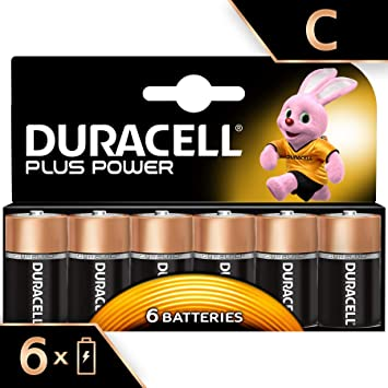 Duracell MN1400B6 Plus Power - Pilas tipo C (pack de 6): Amazon.es ...