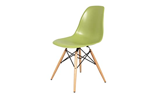 Control Brand Mid-Century-Inspired Eiffel Dining Chair, Green