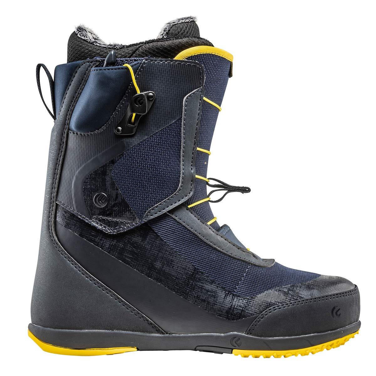 19-20 FLUX VR-SPEED 28.0cm Midnight/黄 ブーツ フラックス スノーボード