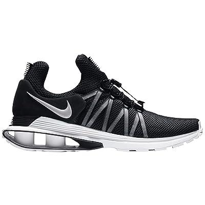 Nike Mens Shox Gravity Running Shoes (10 M US, Black/White-White)   Basketball
