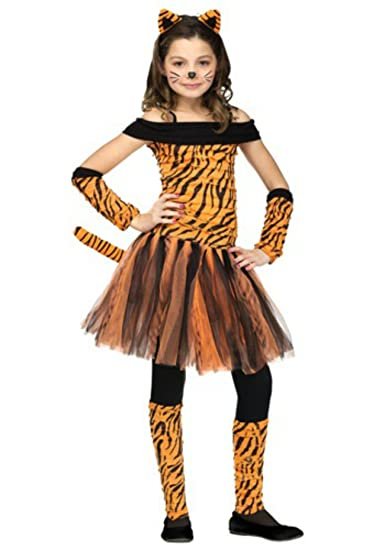 Halloween Outfits For Kids.In Fashion Kids Girl S Tiger Halloween Costume Tigress Costume Wb