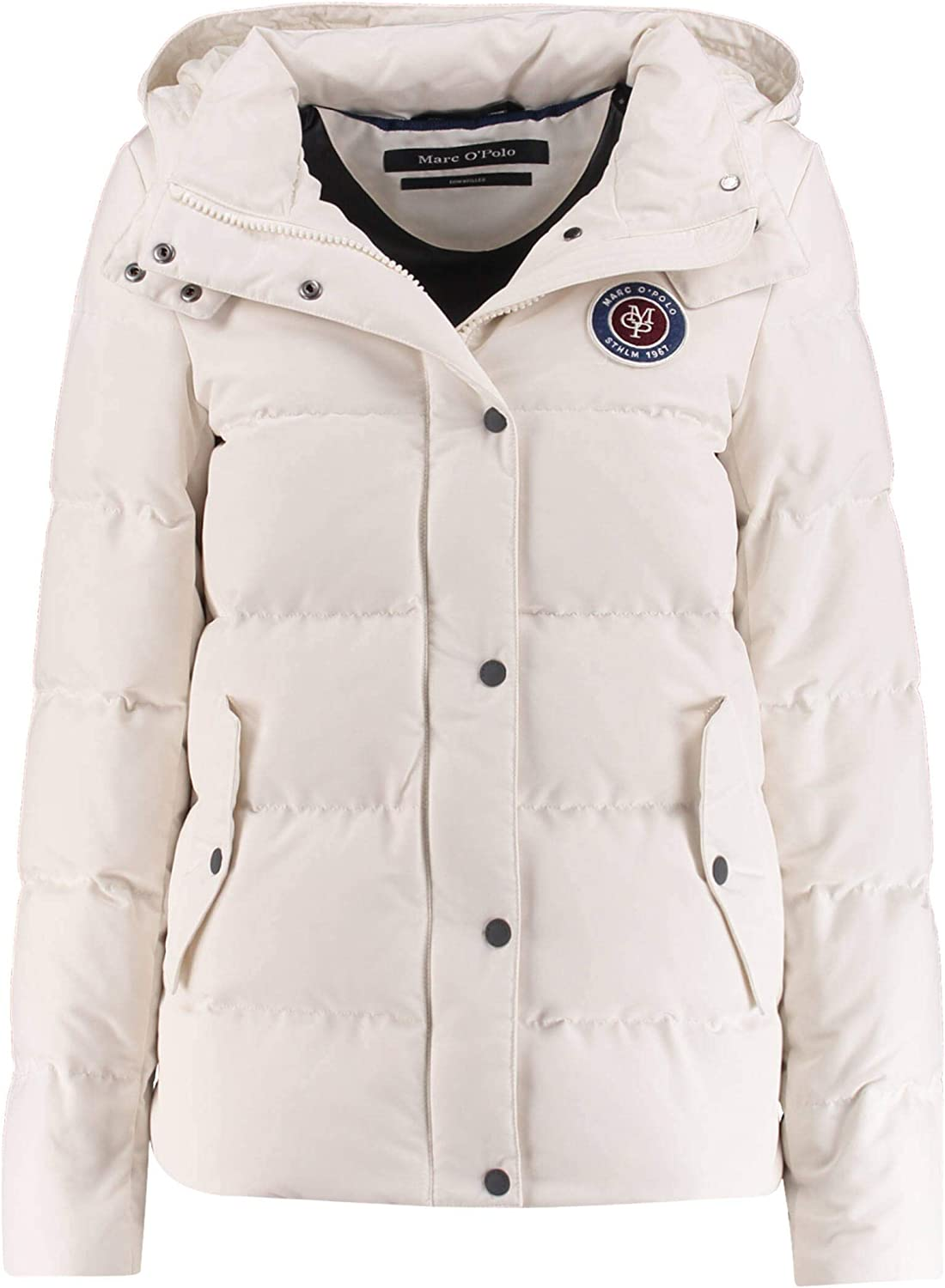 Marc O'Polo Damen Jacket, Filled with real down, deta