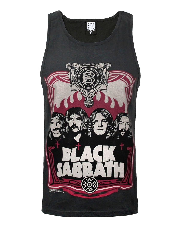 Amplified Black Sabbath Poster Mens Vest