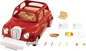 Sylvanian Families 4611 Family Saloon Car - Red,Vehicle