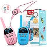 GOCOM Walkie Talkies for Kids, Kids Toys Handheld Child Gift Walky Talky, Two-Way Radio Boys & Girls Toys Age 4-12, for Indoo