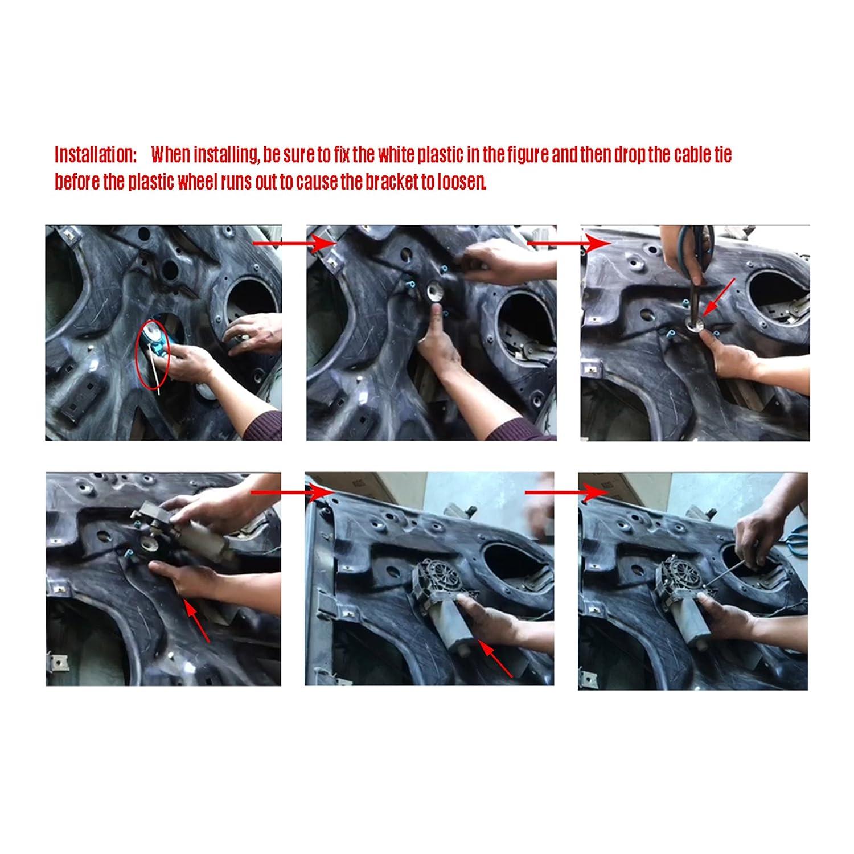 Dromedary L/ève-vitre /électrique avant gauche pour 8e0837461b A4/S4/B6//B7/8e 2000 2008