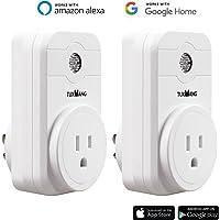 2 Pack TUXWANG WiFi Smart Plug Socket