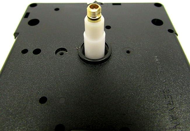 Torque Clock Replacement Movement,mit Langen Spatenh/änden f/ür die Uhrreparatur Ersatz f/ür den Austausch von Uhrenreparaturen