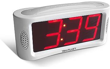 Alarm Clocks Home Decor Portable 5.5inch Kids Bedroom Indoor Table Desktop Snooze Sleep Backlight Home Decoration Weekday Alarm Clock Digital Display Terrific Value