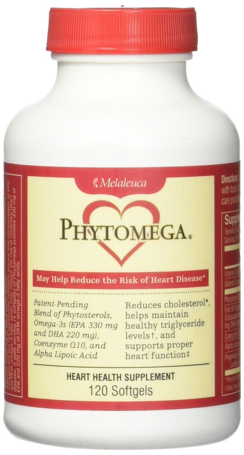 Phytomega Heart Health Supplement 120 Softgels. by Melaleuca