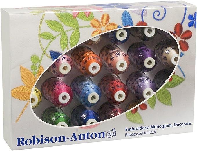 Rayon Embroidery Thread 2331 Robison-Anton 1,100 Yd Mustard
