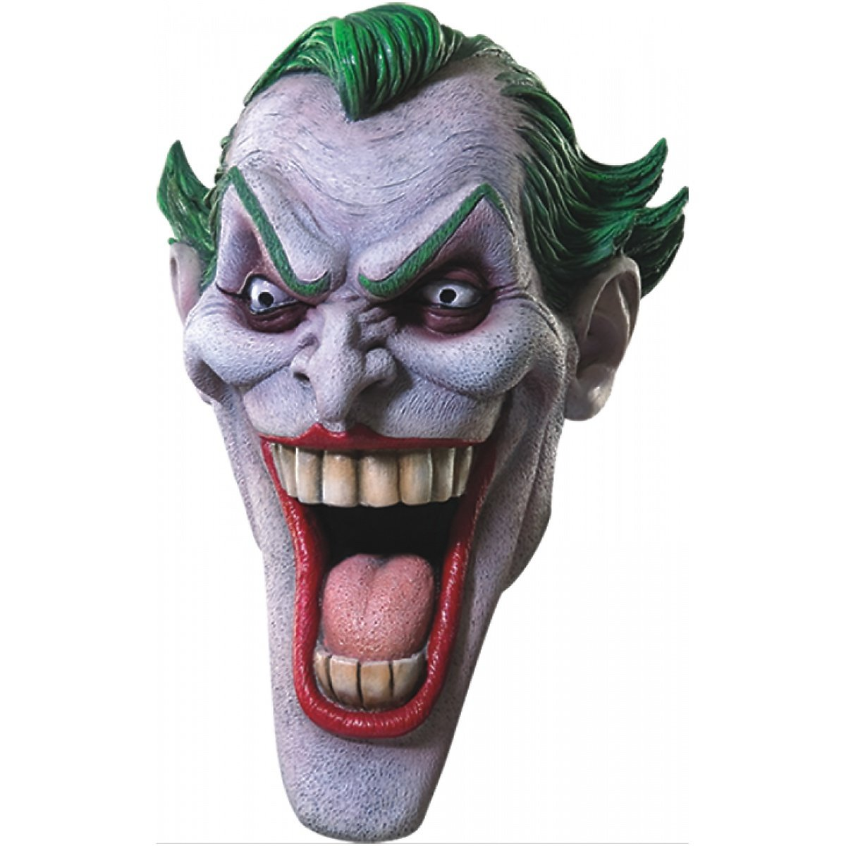 Amazon.com: Máscara de látex de el Joker Deluxe Costume ...
