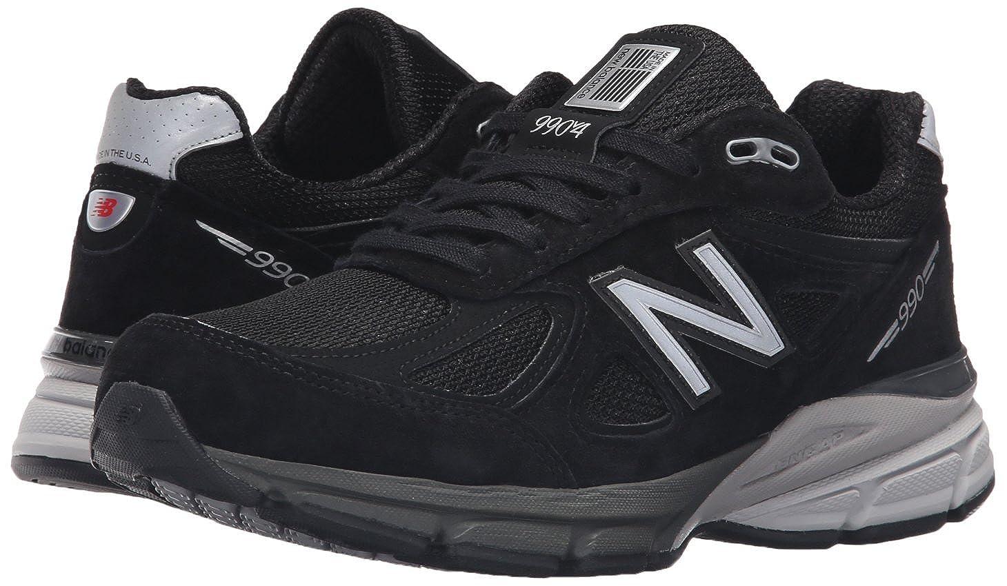 New Balance Damen W990v4 Laufschuh-w schwarz schwarz schwarz Silber 39.5 EU W 24d257