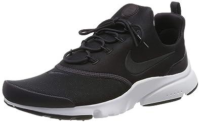 info for d30db b3bb7 Nike Damen Presto Fly PRM Laufschuhe, Schwarz Oil Grey/Metallic Gold/Black  001