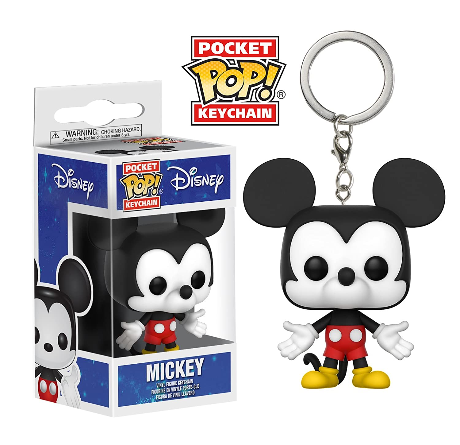 Funko Pop Keychain: Disney - Mickey Mouse Collectible Vinyl Keychain