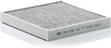Original Mann Filter Innenraumfilter Cuk 2339 Pollenfilter Mit Aktivkohle Für Pkw Auto