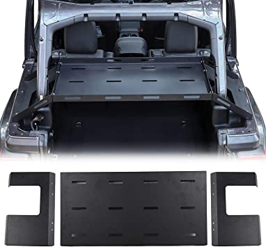 RT-TCZ for Jeep JK JL Interior Accessories Rear Cargo Side Basket Rack Solid Metal Luggage