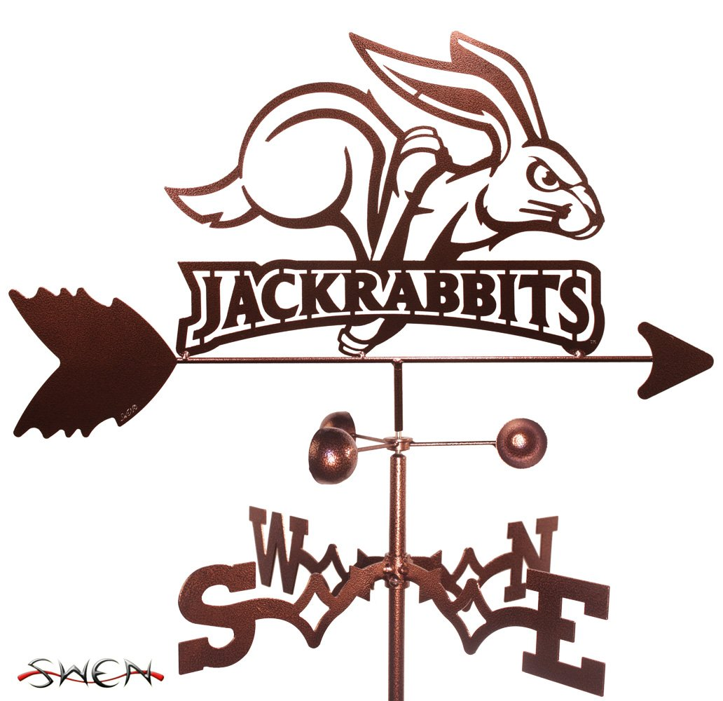 SOUTH DAKOTA STATE SDSU JACKRABBITS JACKS GARDEN Stake Weathervane