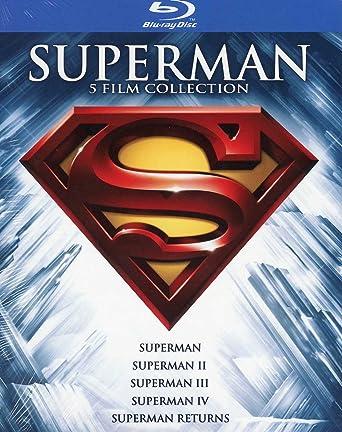 Superman Anthology (5 Blu-Ray) [Italia] [Blu-ray]: Amazon.es: Ned ...