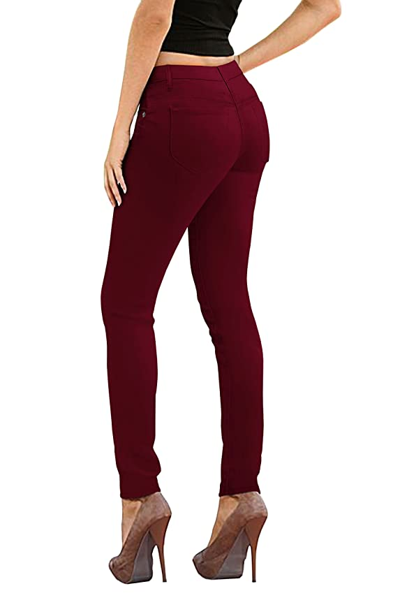 484509669e5 HyBrid   Company Womens Super Stretch Comfy Denim Skinny Jeans at Amazon  Women s Jeans store