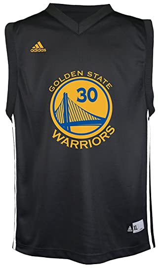 uk availability 9d72d 38555 Stephen Curry Golden State Warriors Black Youth Replica Jersey (Extra Large)