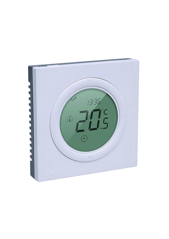 RAL 9016 088L1140 Danfoss Thermostat ECtemp smart blanc