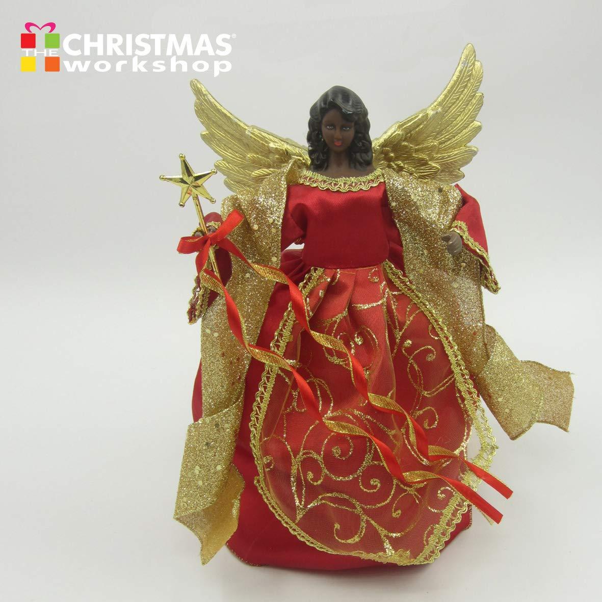 The Christmas Workshop Ange pour Sommet de Sapin