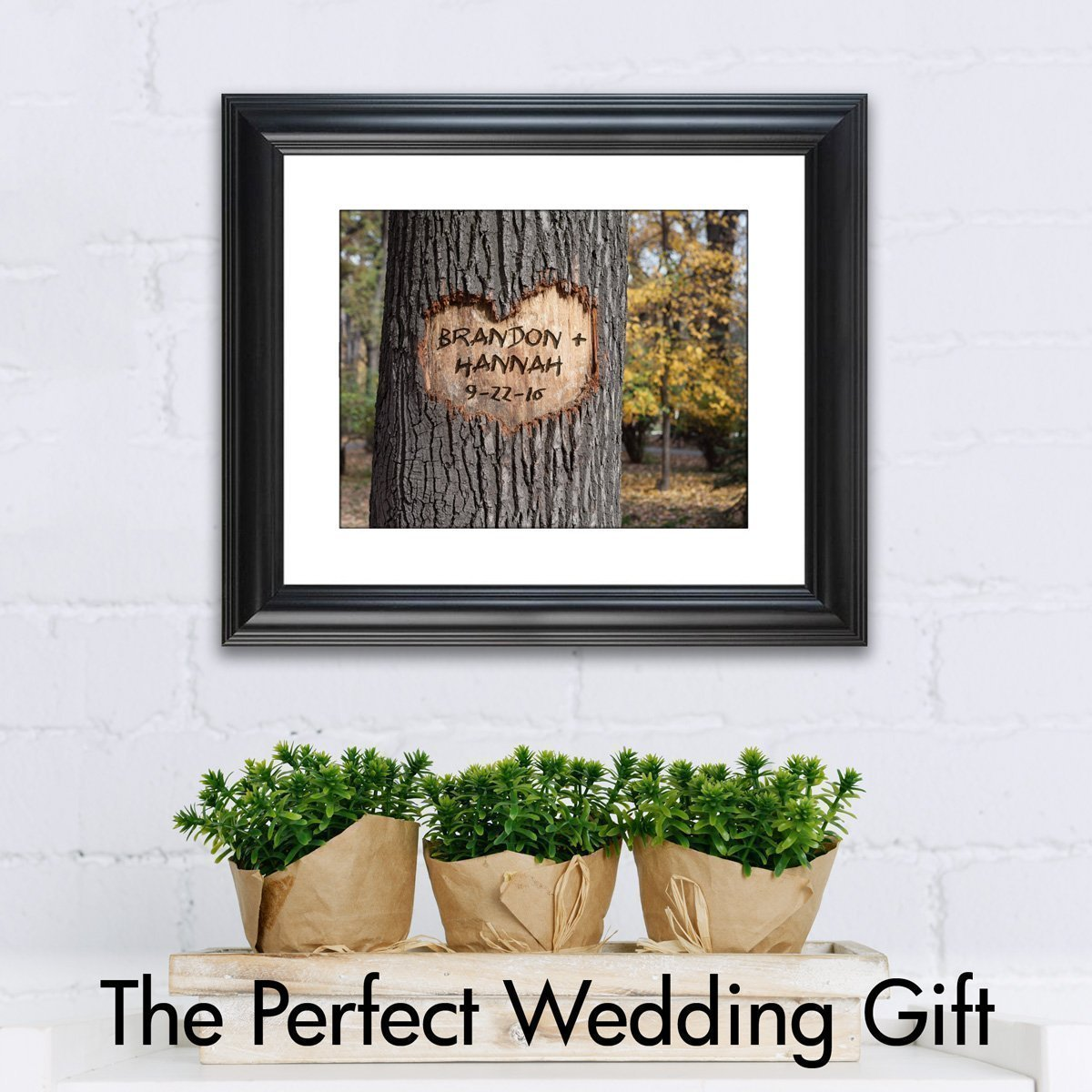 Amazon Personalized Wedding Gift Love Grows The Perfect