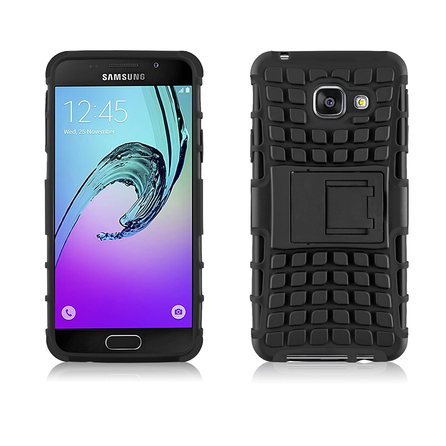 detailed pictures a9946 a2ae7 Amazon.com: Galaxy A3 2016 Case, JAMMYLIZARD [ALLIGATOR] Heavy Duty ...