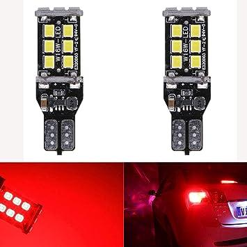 2X T15 W16W 15 smd 921 LED Reverse Light Parking Bulbs CANBUS Error Free 12V