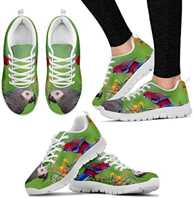 Casual Comfortable Sneakers Running Shoes Pawlion White Great Dane Dog Print Running Shoe for Women