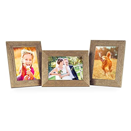 Amazon.com - PHOTOLINI Set of 3 Picture Frames with Dimensions of 6 ...