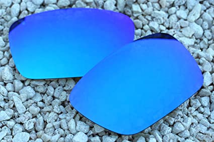 1779d0da4d2 Image Unavailable. Image not available for. Color  Bright Sky Blue Polarized  Replacement Lenses for Oakley Fuel Cell