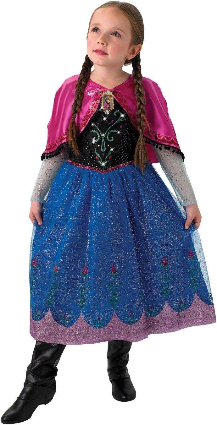 Rubies Disfraz de Anna, de Frozen, para niños, de Disney, con ...