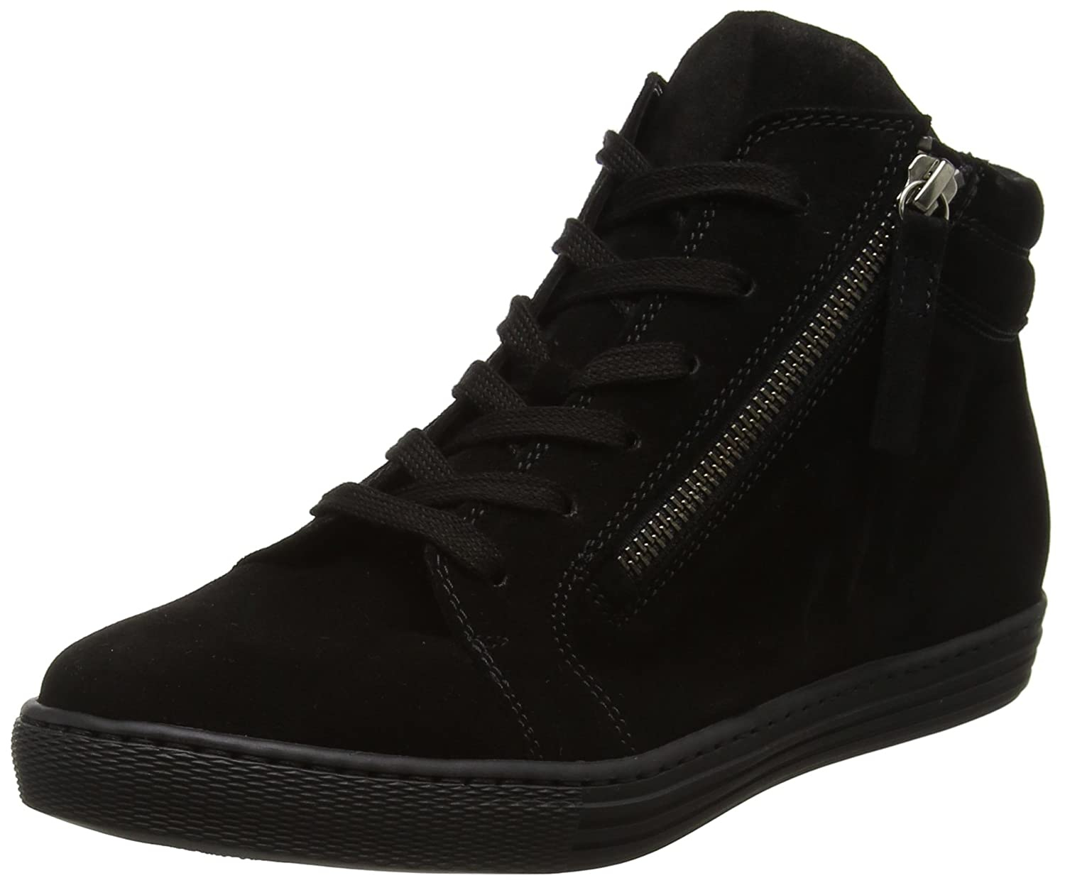 Gabor Basic, Shoes Comfort Shoes Basic, Femme Derbys Femme Noir (Schws.schw/Micro) cdc2e33 - piero.space