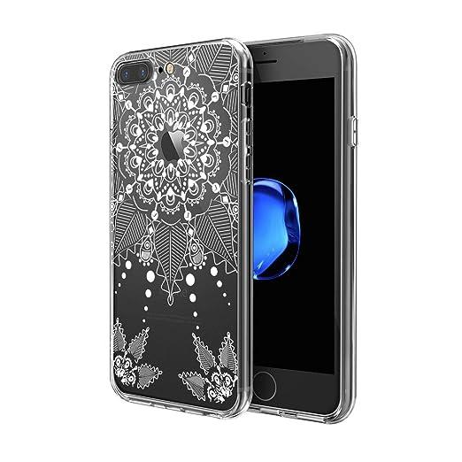 22 opinioni per Custodia iPhone 7 Plus , ivencase Cover iPhone 7 Plus Silicone Trasparente TPU