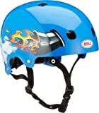 Bell casque de vélo segment jr. bMX-casque de vélo-bleu-nitro-taille s: 51–55 cm