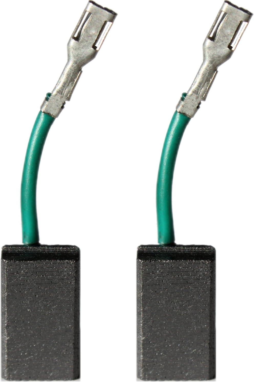 14-125 CI CIE Balais de charbon pour meuleuse dangle Bosch GWS 10-125 C CE//GWS 10-150 C//GWS 11-125 CI CIE CIH