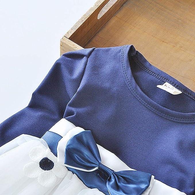 INLLADDY Kleid Baby M/ädchen Kapuzenpullover Tutu Langarm Brief Drucken Prinzessin Kleid Party Hochzeit Festliches Kost/üm