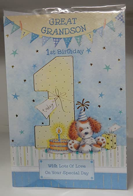 Grandson First Birthday Card Verses Best Image Of Bithday Moment