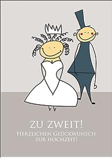 Herzlichen Gluckwunsch Zur Hochzeit Karte Brautpaar Lustiges