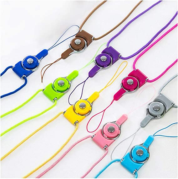 Multi Function Mobile Phone Straps Rope for S6 S7 Edge Plus 6 Plus Lanyard Neck Strap Phone Decoration,White