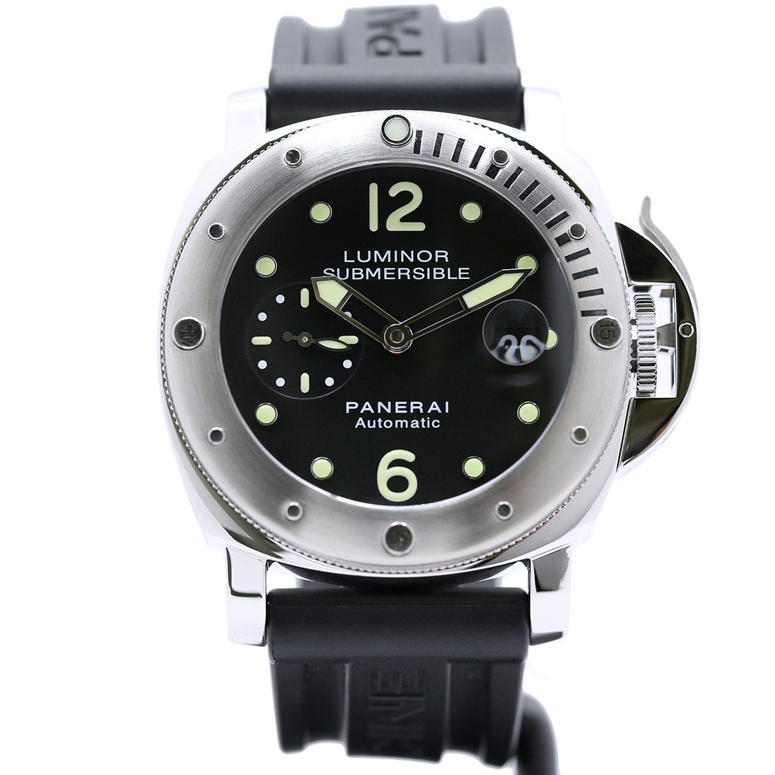 Panerai Luminor Submersible automatic-self-wind mens Watch PAM00024 (Certified Pre-owned)