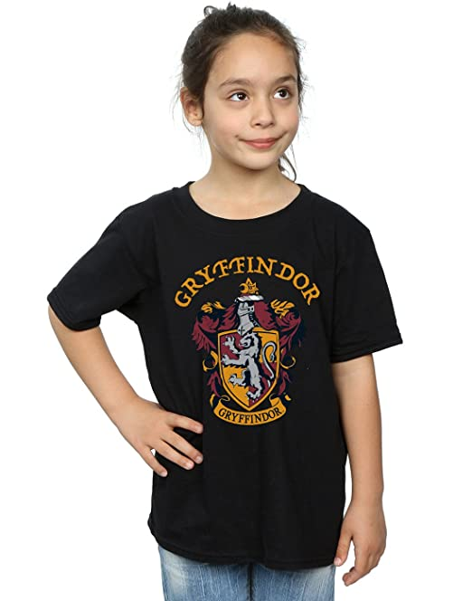 951c4dafe3c Harry Potter Girls Gryffindor Crest T-Shirt  Amazon.co.uk  Clothing