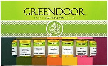 6a163d6153300c TESTER  Greendoor Massageöl Set Sortiment Minis im Geschenkkarton ...
