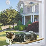 NOYAL Cat Resting Seat Perch Window Hammock Cats Kitty Safety Bed with Durable Heavy Duty Suction Cups Cat Bed Holds Up to 30lbs(Extra 2 Suction Cups)