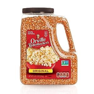 Orville Redenbacher's Gourmet Popcorn Kernels, Original Yellow, 5 lb, 12 oz