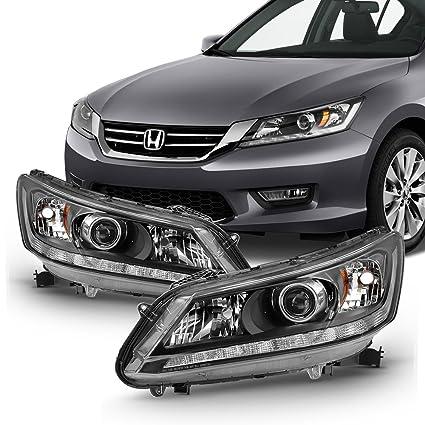 Honda Accord Headlights >> Amazon Com For 2013 2014 2015 Honda Accord Sedan Halogen Model