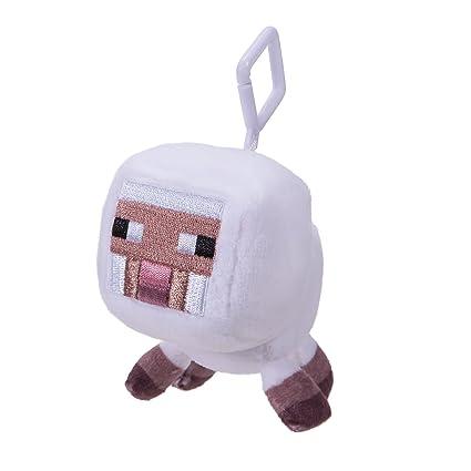 Minecraft 16675 – Mini de Peluche con Clip – Oveja Blanca – 1 ...