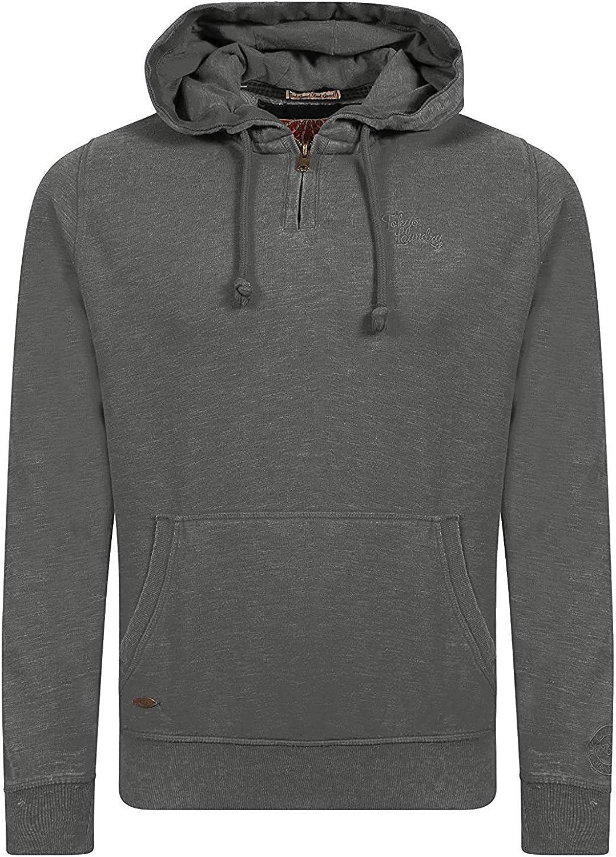 Tokyo Laundry Mens Hooded Top Fleece Lined Sweatshirt 1D8856-1D8865